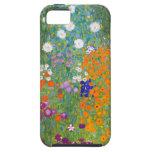 Gustavo Klimt: Jardín de flores iPhone 5 Case-Mate Cárcasas