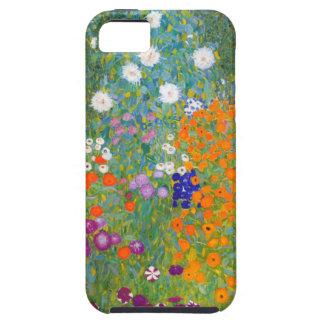 Gustavo Klimt Jardín de flores iPhone 5 Case-Mate Cárcasas