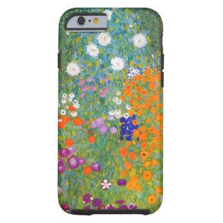Gustavo Klimt: Jardín de flores Funda De iPhone 6 Tough
