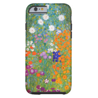 Gustavo Klimt: Jardín de flores Funda Para iPhone 6 Tough