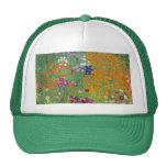 Gustavo Klimt: Jardín de flores Gorro De Camionero