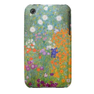 Gustavo Klimt: Jardín de flores iPhone 3 Case-Mate Funda