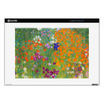 Gustavo Klimt: Jardín de flores Portátil 38,1cm Skins