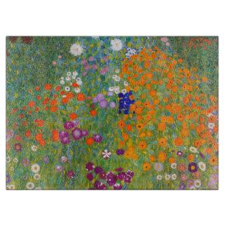 Gustavo Klimt: Jardín de flores Tablas Para Cortar