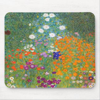 Gustavo Klimt: Jardín de flores Alfombrilla De Ratones