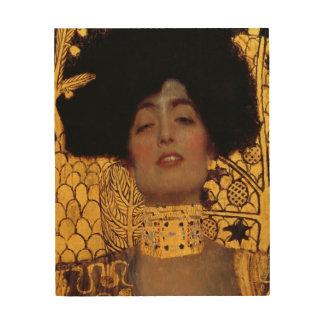 Gustavo Klimt Judith y el jefe de Holofernes Impresiones En Madera