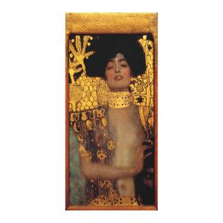 Gustavo Klimt Judith y el jefe de Holofernes Impresión En Tela