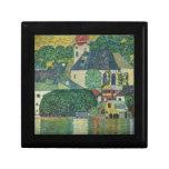 Gustavo Klimt //Kirche en Unterach Attersee Caja De Regalo