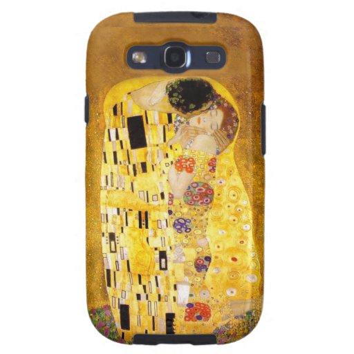 Gustavo Klimt la caja de la galaxia de Samsung del Funda Para Galaxy S3