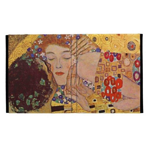 Gustavo Klimt la caja del cojín del beso i