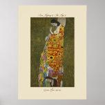 Gustavo Klimt la esperanza II 1907-1908 impresione Posters