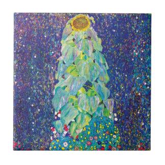 Gustavo Klimt - la pintura de la bella arte del Azulejo Cuadrado Pequeño