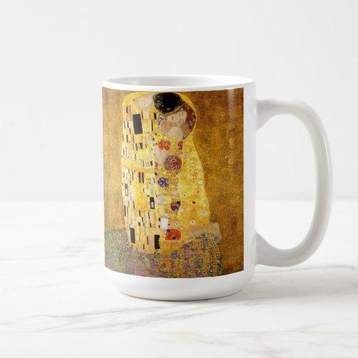 Gustavo Klimt la taza del beso
