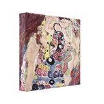 Gustavo Klimt - las vírgenes Lienzo Envuelto Para Galerías