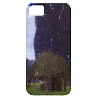 Gustavo Klimt los árboles de álamo altos iPhone 5 Case-Mate Carcasa