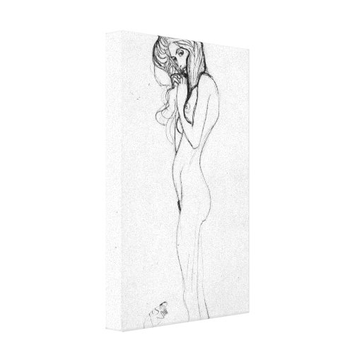 Gustavo Klimt - Madalane Impresión En Lienzo