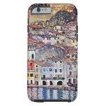 Gustavo Klimt - Malcesine en el lago Garda Funda De iPhone 6 Tough