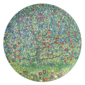 Gustavo Klimt: Manzano Platos De Comidas