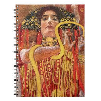 Gustavo Klimt - medicina de Hygieia Note Book
