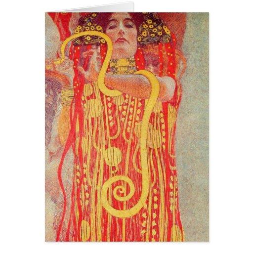 Gustavo Klimt - Medizin Felicitacion