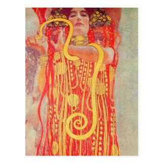 Gustavo Klimt - Medizin Postal