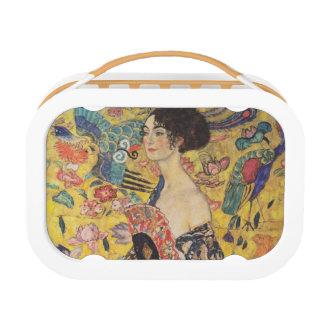 Gustavo Klimt - mujer con la fan