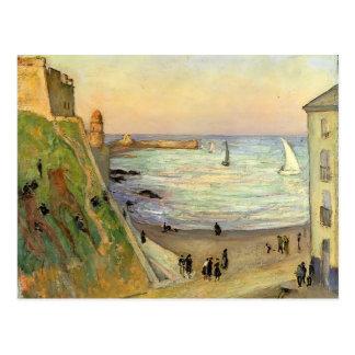 Gustavo Loiseau- el puerto en Collioure Postales