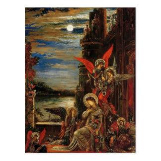 Gustavo Moreau- St Cecilia Postales