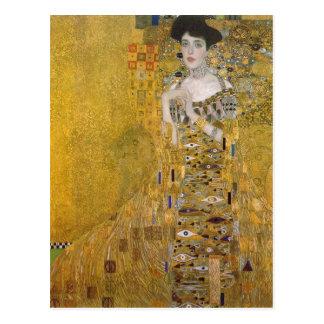 Gustavo sumario Klimt Catal?: Retrat de l'Adele Bl Tarjetas Postales