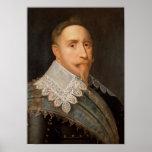 Gustavus Adolphus de Suecia Póster