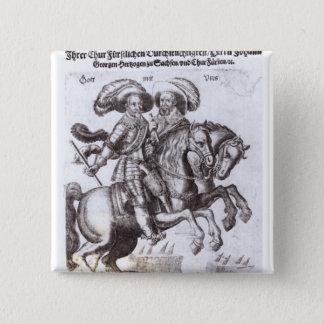 Gustavus Adolphus II  and Gustavus Adolphus IV Pinback Button