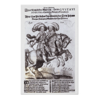 Gustavus Adolphus II  and Gustavus Adolphus IV Poster