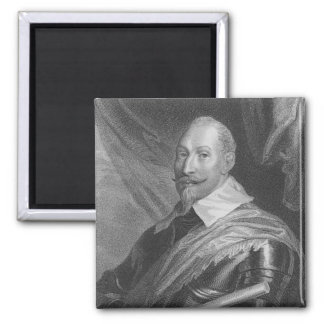 Gustavus Adolphus II  King of Sweden 2 Inch Square Magnet