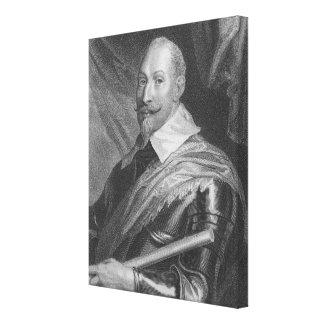 Gustavus Adolphus II  King of Sweden Canvas Print