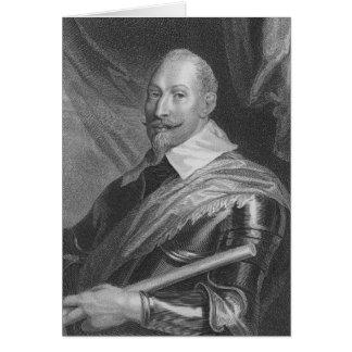 Gustavus Adolphus II  King of Sweden Card