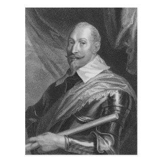 Gustavus Adolphus II  King of Sweden Postcard