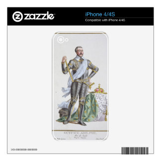 Gustavus IV Adolphus (1778-1837) King of Sweden fr Decals For iPhone 4S