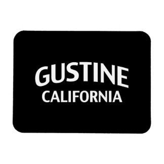 Gustine California Imán Foto Rectangular