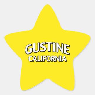 Gustine California Pegatina En Forma De Estrella