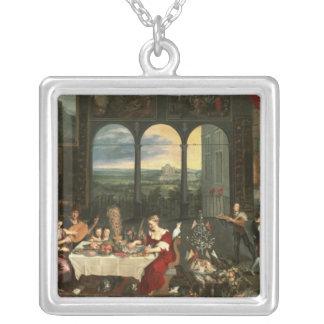 Gusto, audiencia y tacto, 1618 grímpola