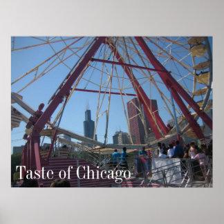Gusto de Chicago Póster