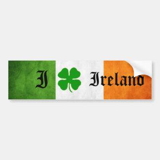gusto de Irlanda (pegatina) Pegatina Para Auto