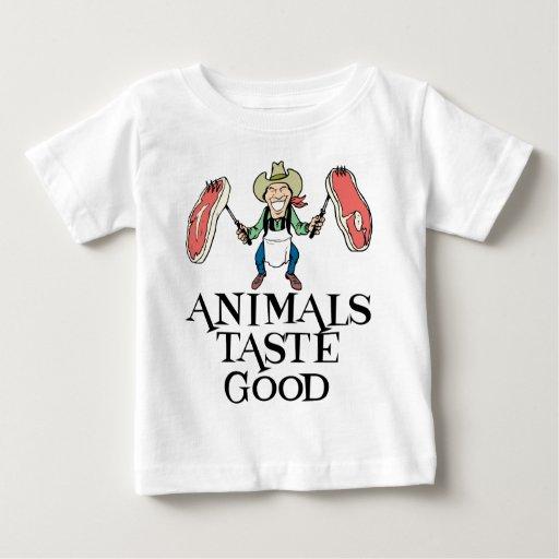 Gusto de los animales bueno camisas
