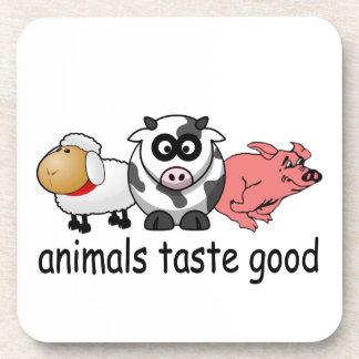 Gusto de los animales bueno posavasos