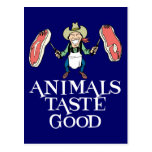 Gusto de los animales bueno postales