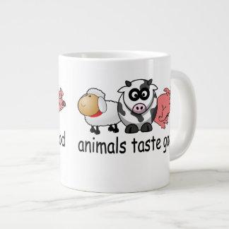 Gusto de los animales bueno taza de café grande