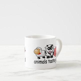 Gusto de los animales bueno taza de espresso