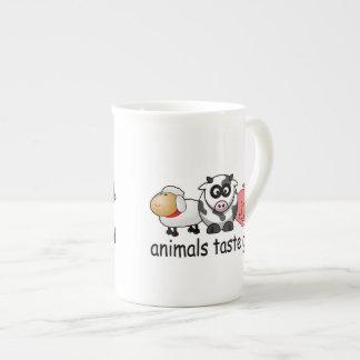 Gusto de los animales bueno taza de té