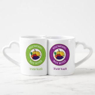 Gusto de los vegetarianos mejor set de tazas de café