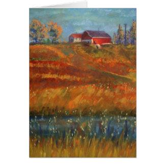 Gusto de mi postal casera de la tierra de Jeff Oeh Tarjeton